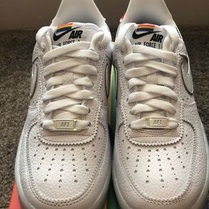 "Nike Air Force 1 ""Be True"" (2020). Women's size 6."
